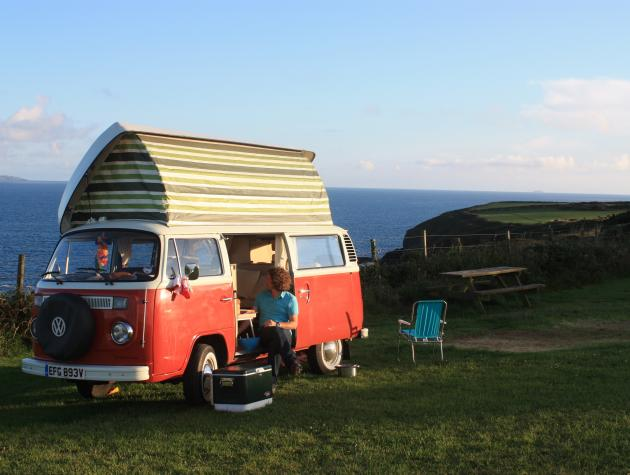 One Man and his Camper Van